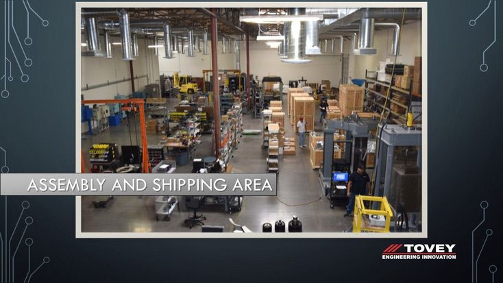 Assembly and Shipping Area